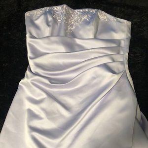 Lilac formal dress